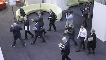 AUSTRALIA-REDADA EN TELEVISORA