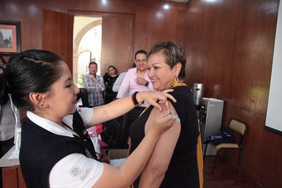Congreso Del Estado Apoya Campaña De Vacunación Contra
