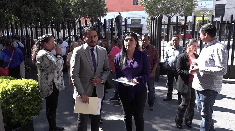 Paloma Bravo presentó ante el CEEPAC y la FGE denuncia de violencia de género. - Canal 7 SLP