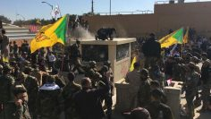 Outraged Iraqi protesters try to storm US embassy in Baghdad