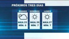 Pronostico del clima para el primer fin de semana de diciembre
