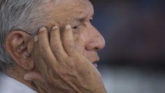 Andrés Manuel López Obrador, presidente de México supervisó obras en Mexicali.