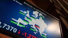 La Bolsa española se desinfla y reduce las ganancias iniciales al 3,93 %