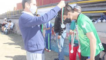 Primera Competencia De Atletismo CDEM En La Modalidad De Deporte Adaptado